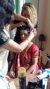 Coiffure et maquillage mariée D&Z Agency