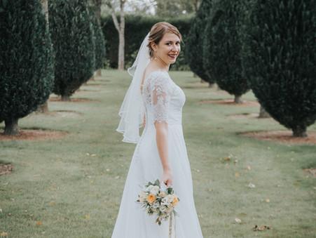 Remerciement de Marie, mariée le 5 octobre 2019