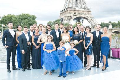 Coiffure et maquillage mariée et invitées D&Z Agency