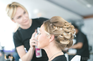 Coiffure et maquillage maman D&Z Agency