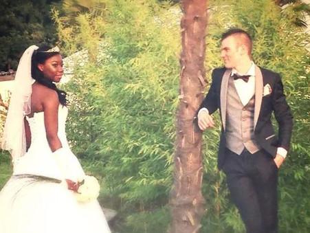 Remerciement de Nadine, mariée le 6 septembre