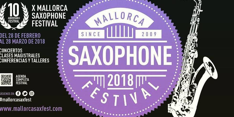 X Mallorca Saxophone Festival
