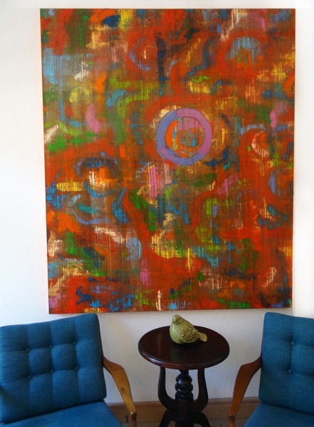 "60"" X 72"" - Oil on canvas"