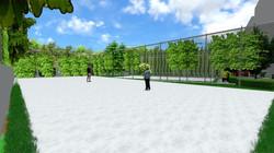 Tennis, Badminton Arena 2