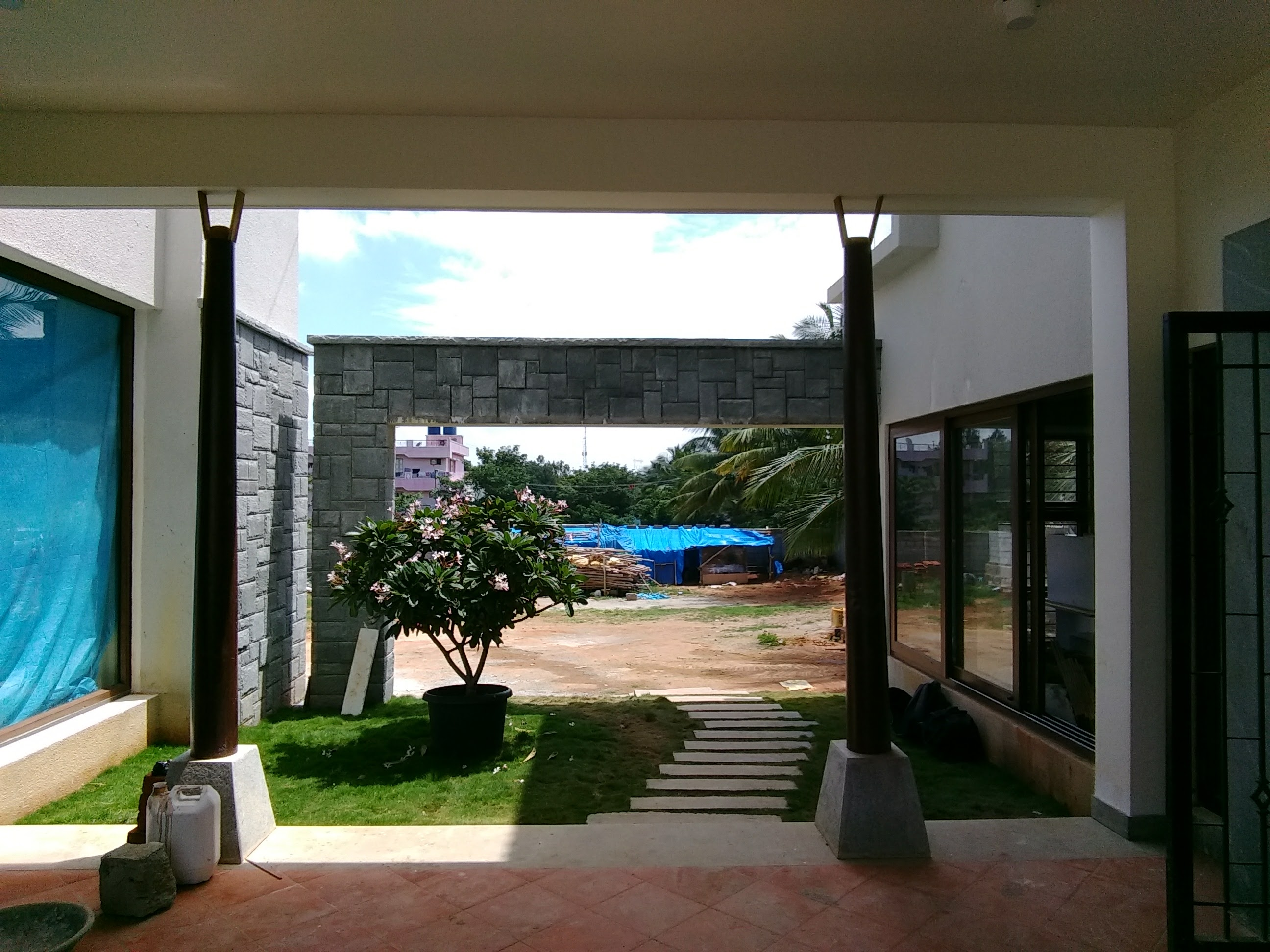 South side Courtyard