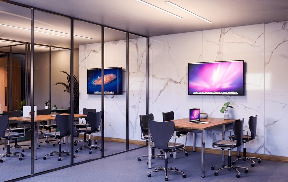 Coworking - Salas de reunião