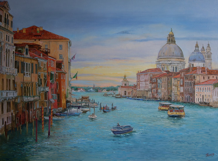 Венеция 60х80