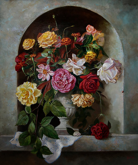 Розы 50х60