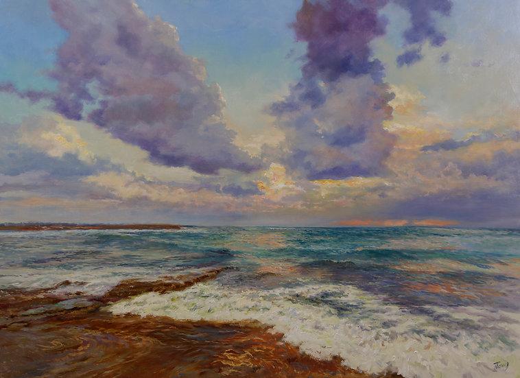 Морской пейзаж 65х90
