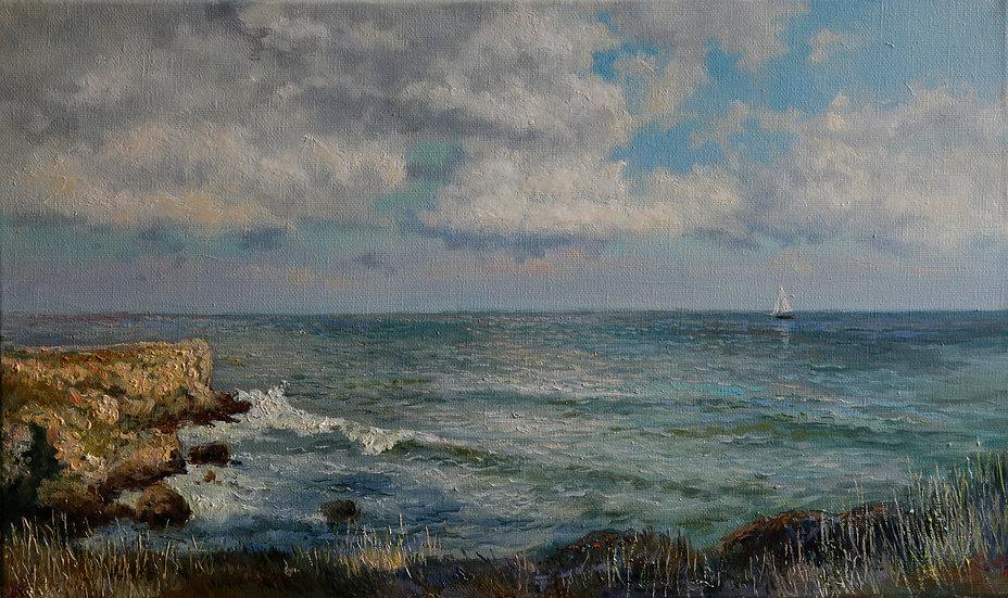 Азовское море 35х50