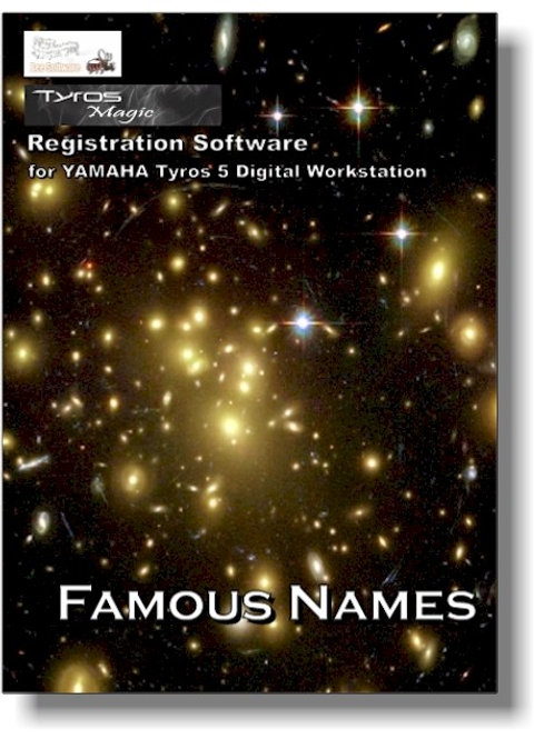 Famous Names - Boxed Version (PSR-Magic)