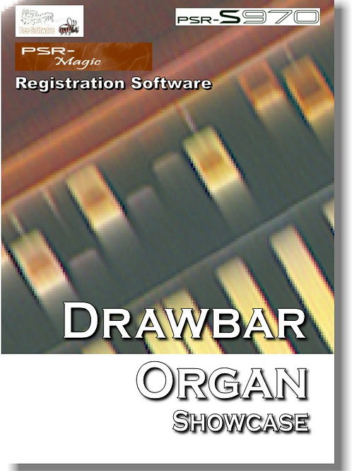 Drawbar Organ Showcase (PSR-Magic) - Download Only