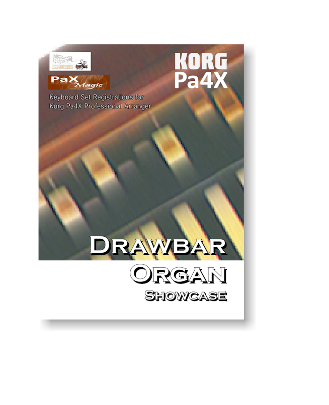 Drawbar Organ Showcase - Download Only (Korg Pa4X)