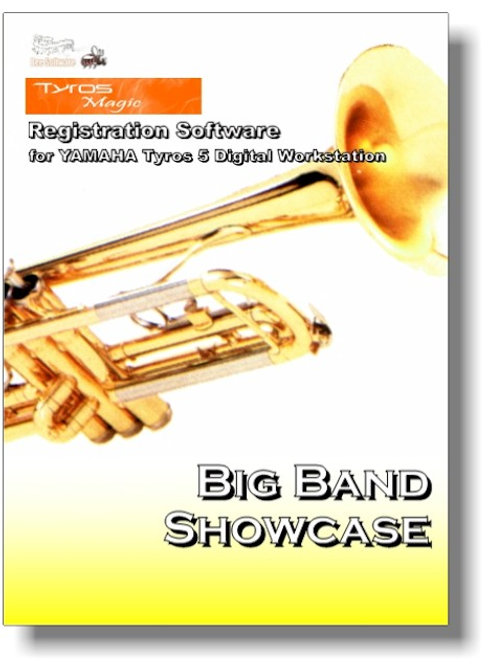 Big Band Showcase - Boxed Version (PSR-Magic)