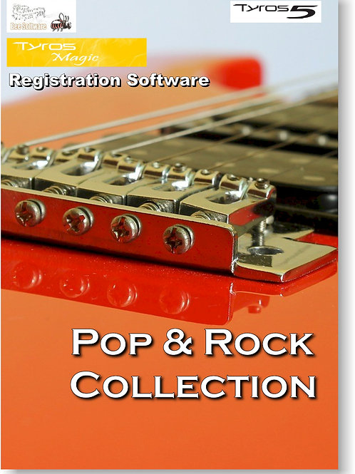Pop & Rock Collection (TyrosMagic) Boxed Version