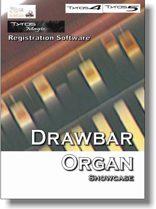 Drawbar Organ Showcase (TyrosMagic) Boxed Version