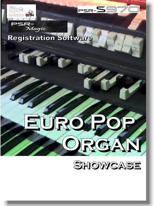 Euro Pop Organ Showcase (PSR-Magic)