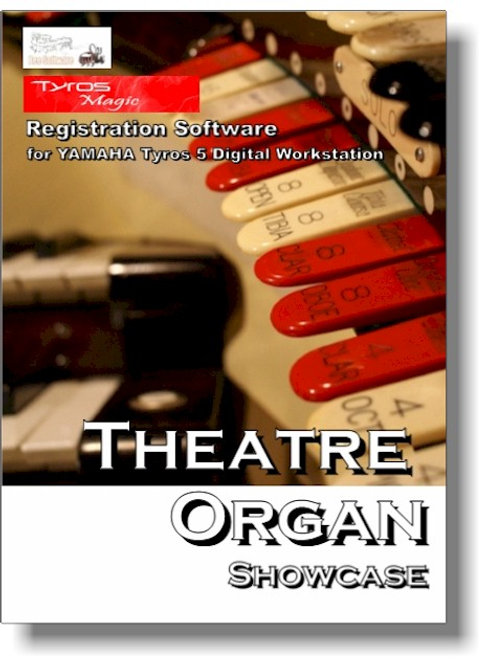 Theatre Organ Showcase - Boxed Version (PSR-Magic)