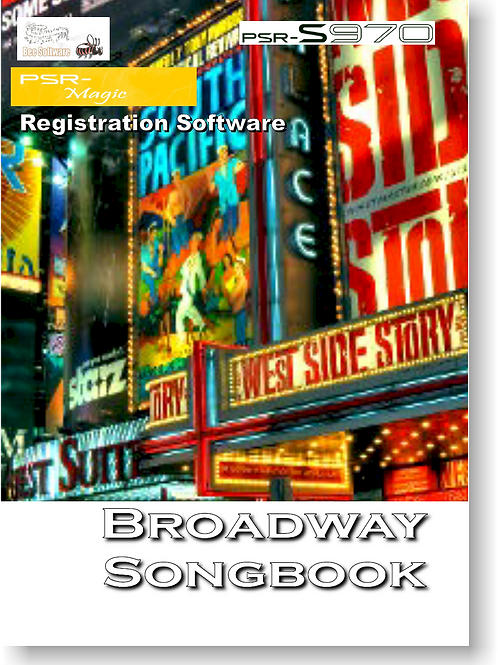 Broadway Songbook - Boxed Version (PSR-Magic)