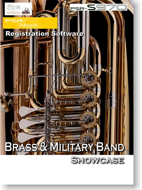 Brass & Military Band Showcase (PSR-Magic) - Boxed Version