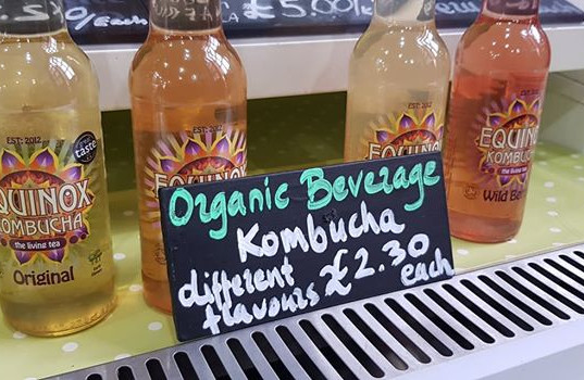 Kombucha is nice
