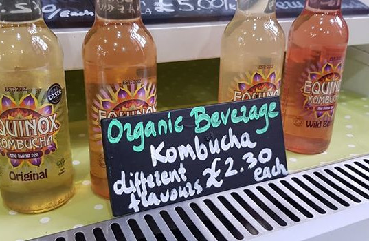 Kombucha is nice