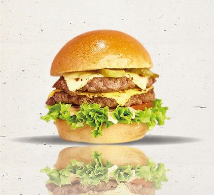 雙層芝士和牛堡 Double Cheesy Beef