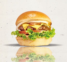 煙肉芝士和牛堡 Bacon Cheesy Beef
