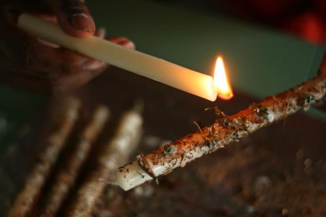 WHY WE BURN CANDLES...