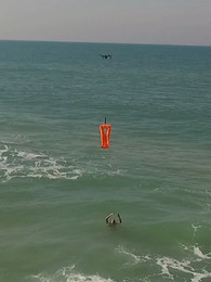 drone rescue a drowning person