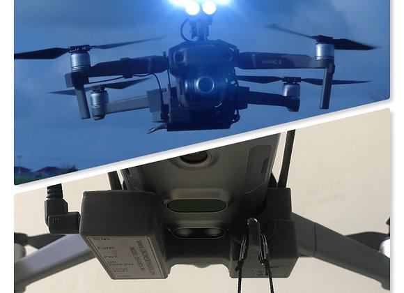 Drone-Sky-Hook Bundle Dual Release & Drop PLUS with Searchlight for DJI Mavic 2