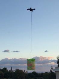 DJI Mavic drop baloons