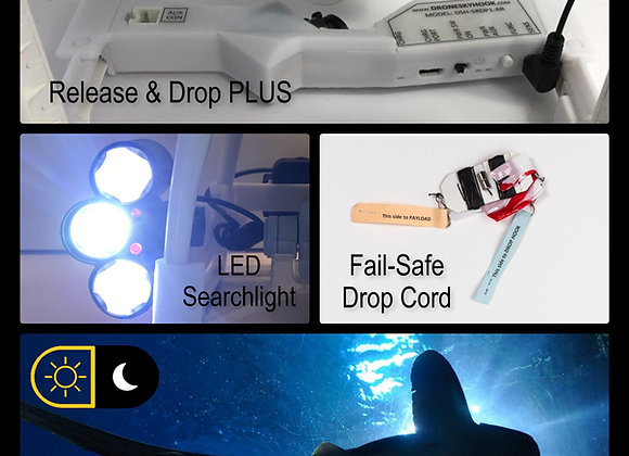 Daylight and Low-Light Drone Fishing System for DJI Phantom 3