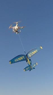 DJI Phantom 3 carry glider
