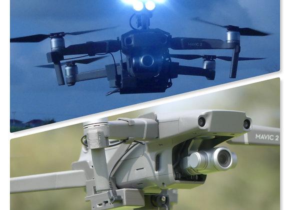 Drone-Sky-Hook Bundle Release & Drop PLUS with Searchlight for DJI Mavic 2