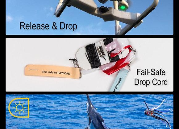 Daylight Drone Fishing System for DJI Phantom 4