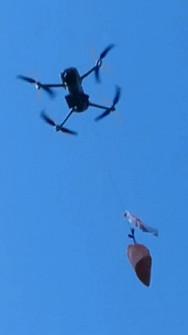 Mavic AIR 2 drop device