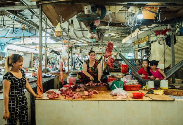 Long Xuyen City, Vietnam