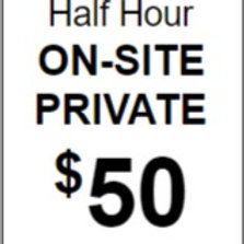 Half Hour Private (On Site)