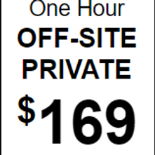 Hour Private (Off Site)