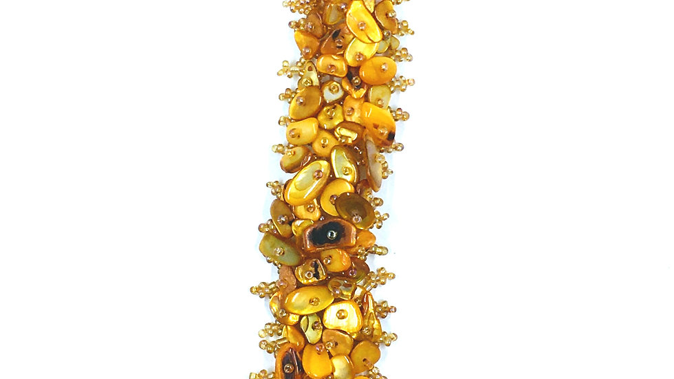Marigold Beaded Bracelet