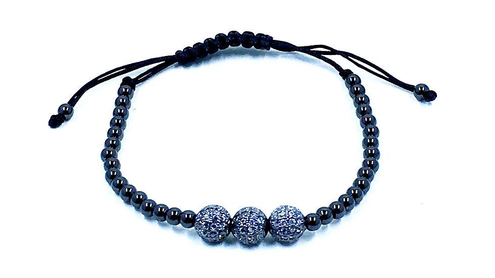 Triple Bead Bling Bracelet