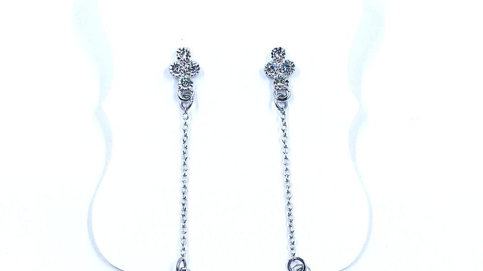 Sparkle Drop Dangle Earrings