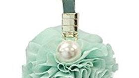 Tulle Pearl Pom Pom Charm for Handbag