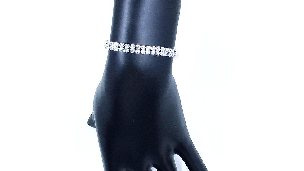 Double Strand Bling Bracelet