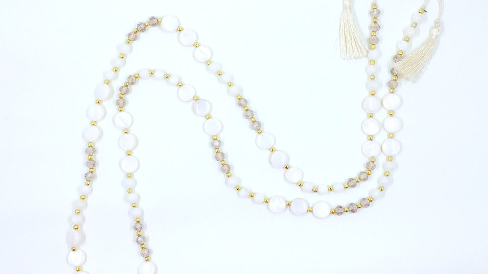 Fresh Water Pearl Coin Necklace