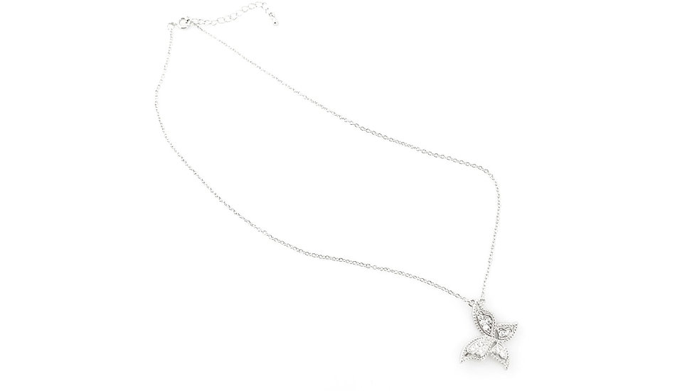 Detailed Butterfly Necklace