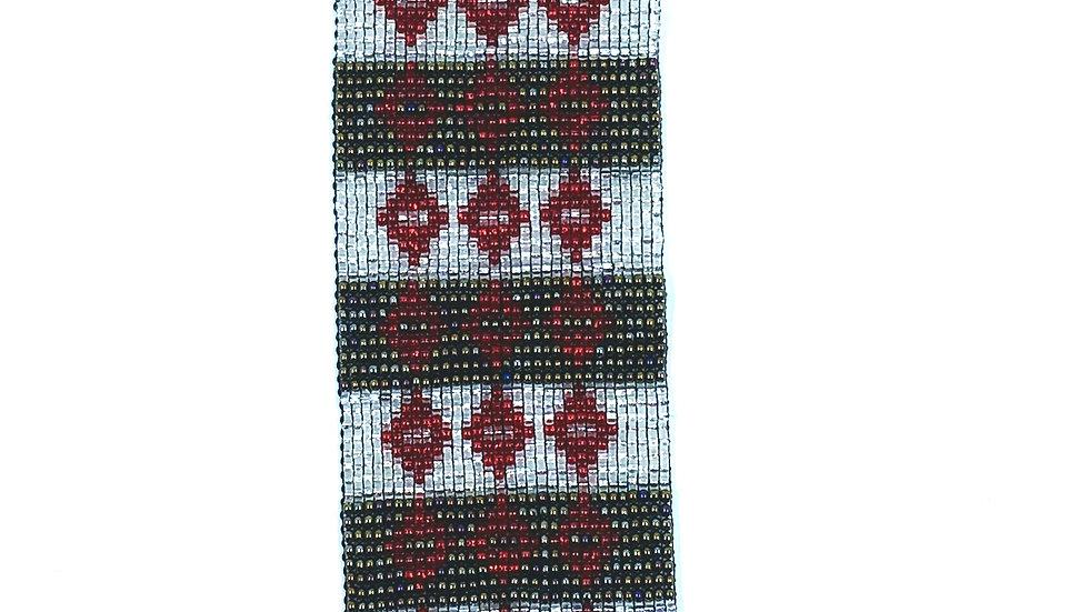 Loom Bracelet Red
