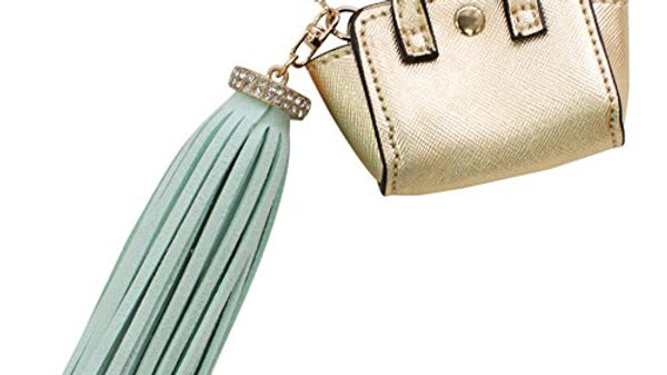 'Handbag' & Tassel Bag Charm