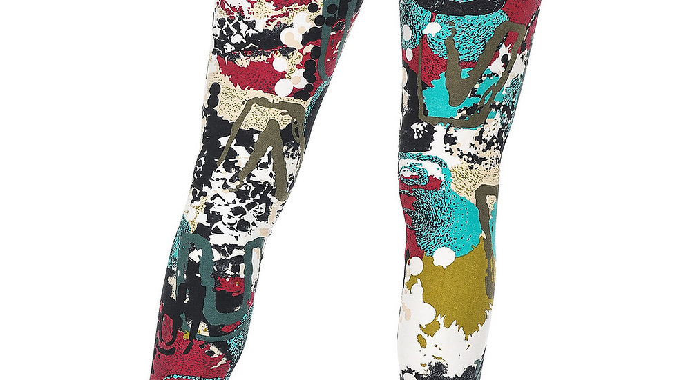 BUTTERY SOFT PICASSO LEGGINGS